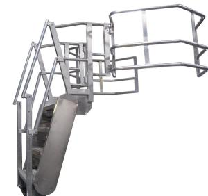 GREENLINE Gangway: Safety Cages / Enclosures for Tank Trucks & Railcars