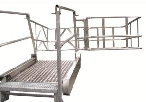 GREENLINE Gangway: Model SB – Flat Ramp | Green-Mfg.com