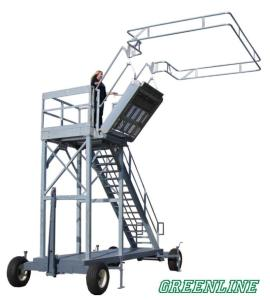 GREEN Portable Transloading Platforms for Railcars & Tank Trucks