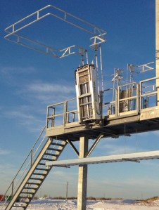 Railcar Loading Platforms | Access Platforms for Railcars by GREEN