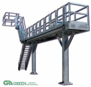 Truck Loading Rack Slide Track by GREEN