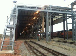 2017 Railcar Access Platforms by GREEN Mfg. #206