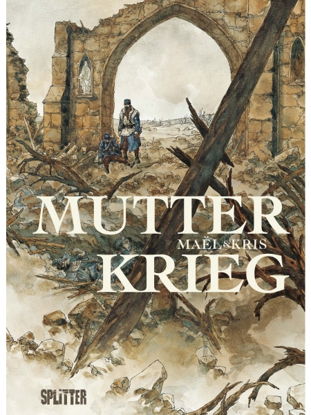 "Cover des Comics ""Mutter Krieg"""