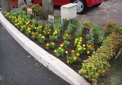 花壇施工事例4