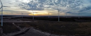 pinwheel, wind park, wind power