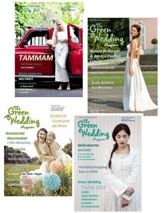 Titelseiten Green Wedding Magazine