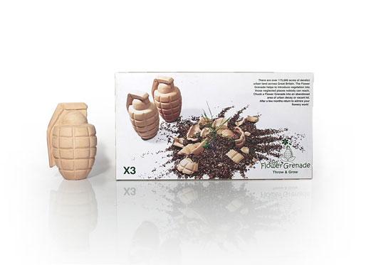 Flower Grenade Verpackung