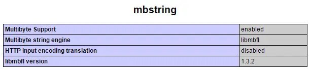 mbstring