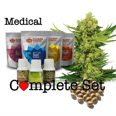 The Complete Marijuana Seed & Grow Set (Medical)