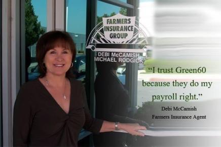 Debi McCamish uses Green60 Payroll