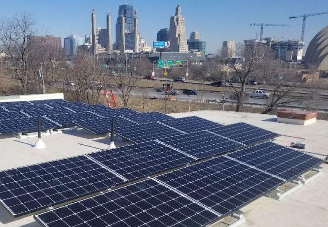 Solar Installations Make Apartments