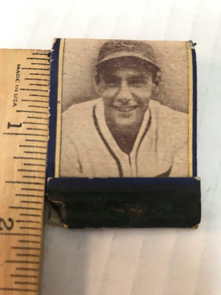 Vintage Phil Cavarretta Match Book