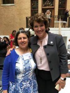 Franny Osman and State Senator Jen Benson