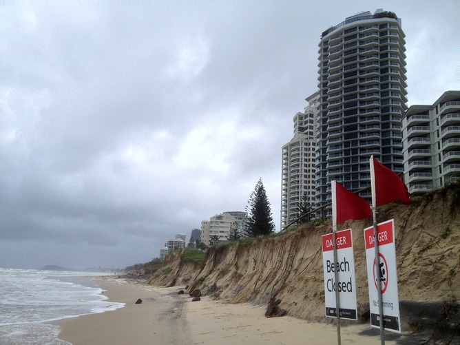 Gold Coast Erosion,