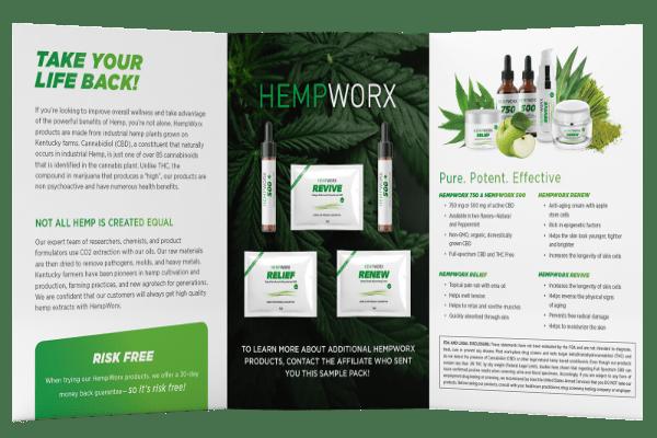 Hempworx Sample Pack