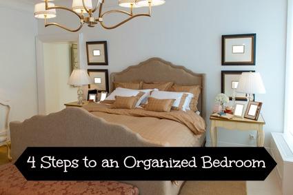 Easy Bedroom Organization Tips