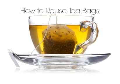 reuse and recycle tea bags