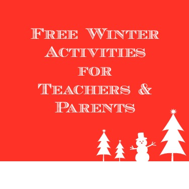 Free winter activites for teachers and parents