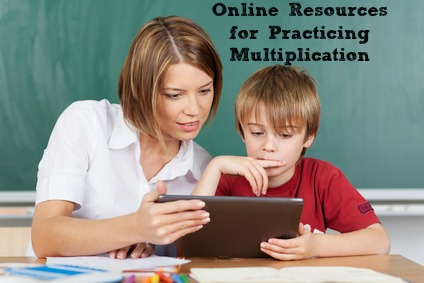 Online Resources for Practicing Multiplication #teaching #K12