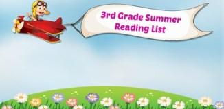 3rd Grade Summer Reading List