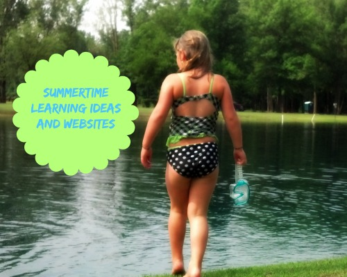 summertime learning ideas and websites for kids #teaching #parenting #kids