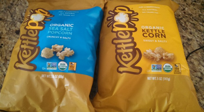 Kettlepop a Healthy Low Calorie Organic Snack