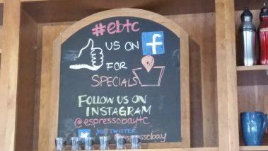 Esresso Bay Coffee in Traverse City, Michigan #TravelTC #Coffee