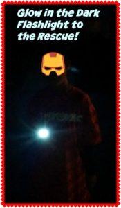 Rayovac Glow in the Dark Flashlight a #Halloween must have!