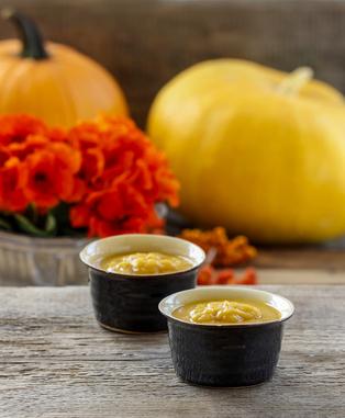 Pumpkin Pudding for Thanksgiving Dessert