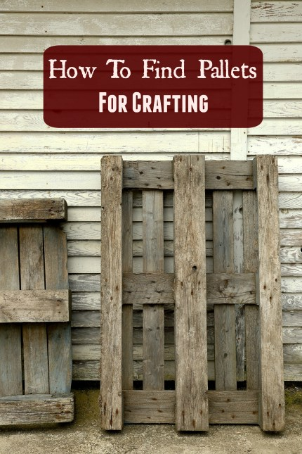 Pallets for Crafting
