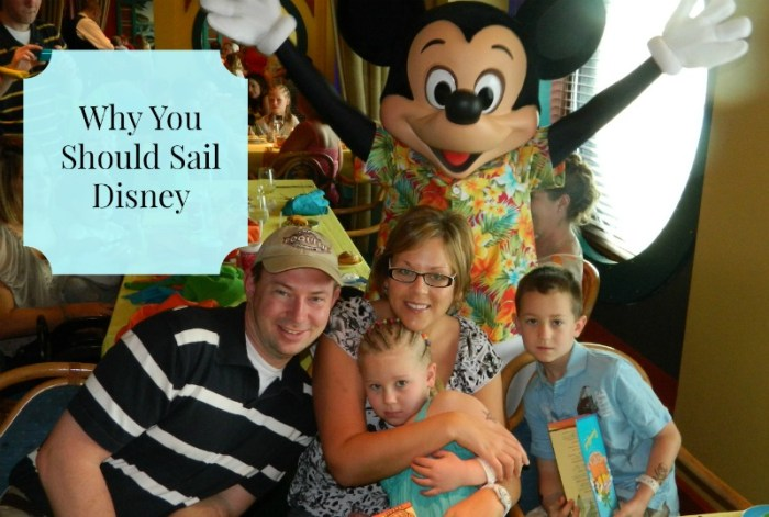 Why You Should Sail Disney