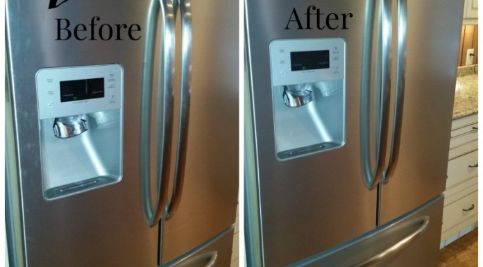 Clean and Polish Your Stainless Steel Fridge Naturally!