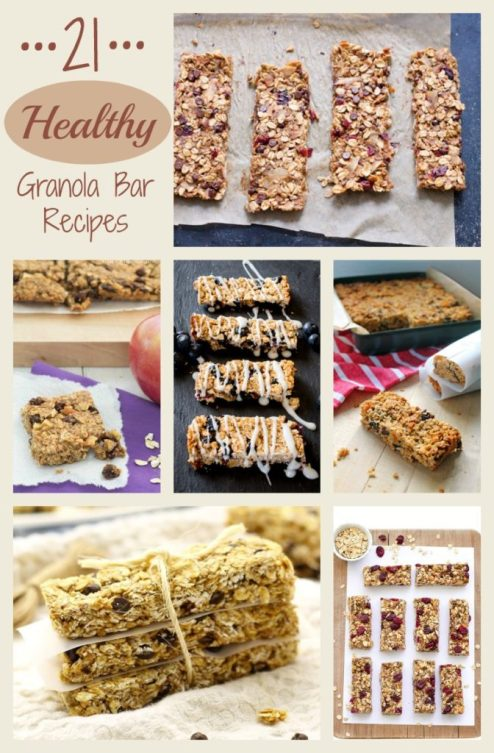 Healthy Granola Bar Recipes #Health #Recipes
