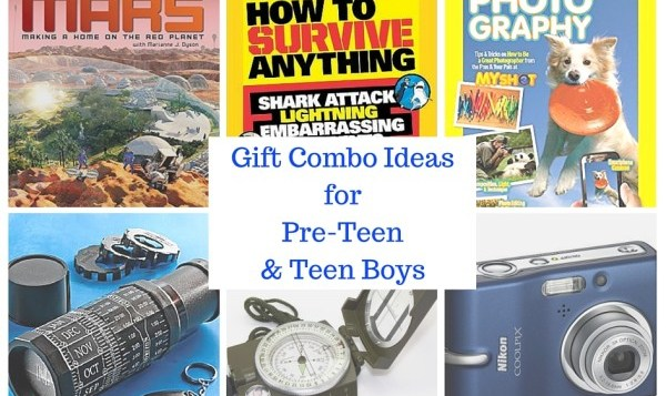 5 Gift Combo Ideas for Pre-Teen and Teen Boys