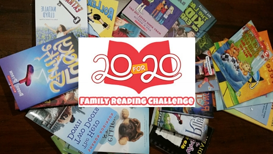 Take the Scholastic 20 for 20 Challenge with me!
