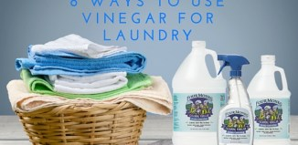 8 Ways to Use Vinegar for Laundry