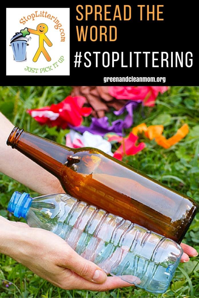 Stop Littering - Help Spread the Word
