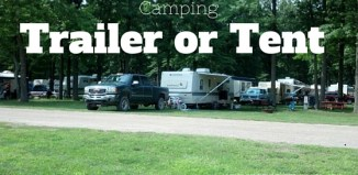 Questions to ask yourself before choosing a tent or trailer for family camping