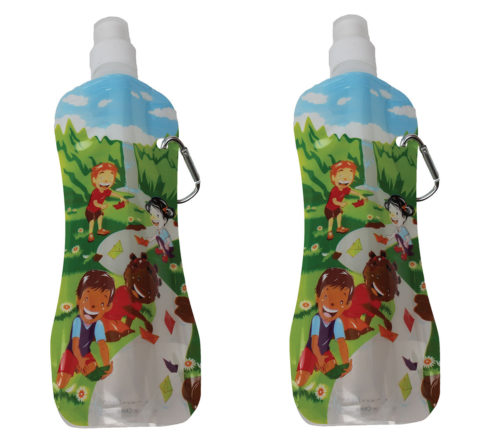 Re-Usable Eco-Friendly Freezable Water bottles by Fresh Baby