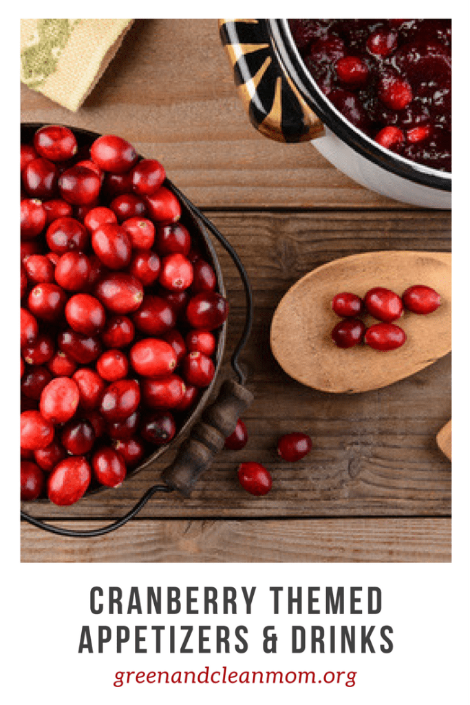 Cranberry Themed Appetizers & Drinks