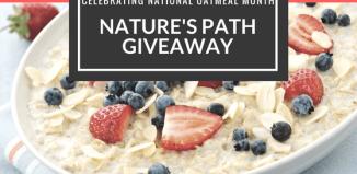 Celebrating National Oatmeal Month