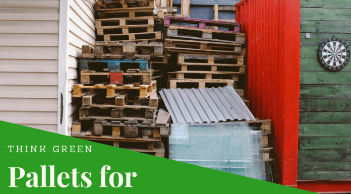 Pallets for Eco Friendly Crafting Projects