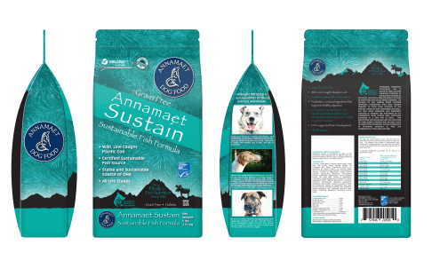 Annamaet Petfoods is proud to announce, as part of its ongoing dedication to green business practices and our support of a more sustainable future for the pet industry, our newest canine formula, Annamaet Sustain!