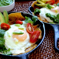 Hearty Chilaquiles Verde