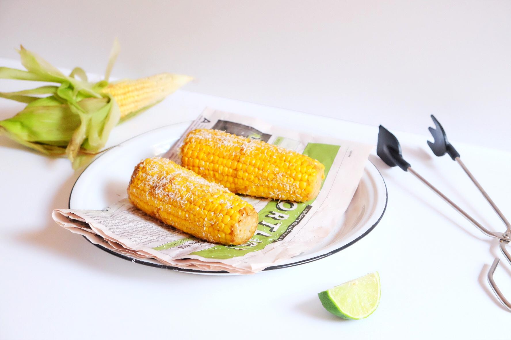 Maïs à la sauce soja