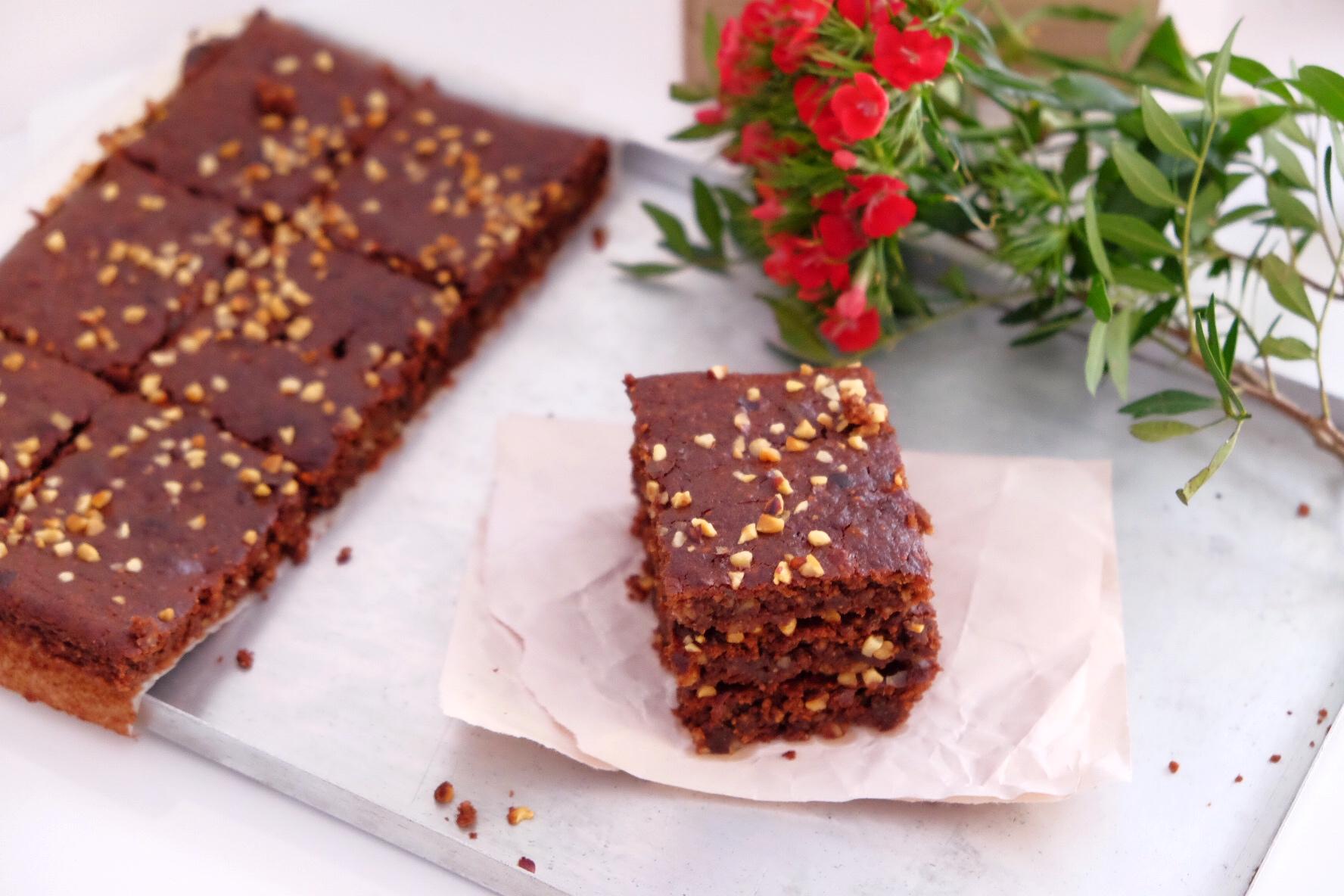 Nuestro delicioso pastel sin gluten y azúcar añadido