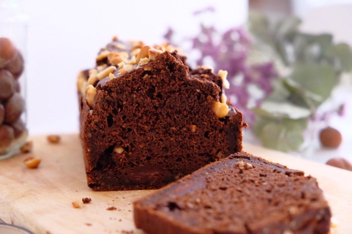 Gâteau au chocolat et à la farine de caroube