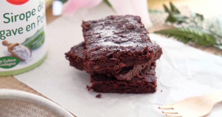 Le brownie à l'avocat, sans gluten.
