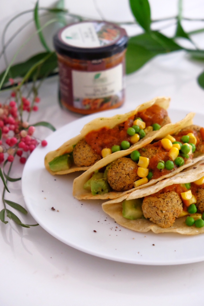 Delicious falafel, made in 20 minutes