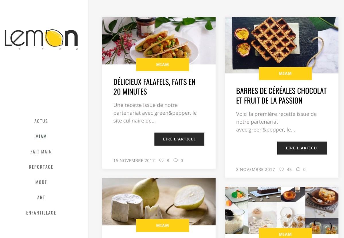 Lemon le Mag